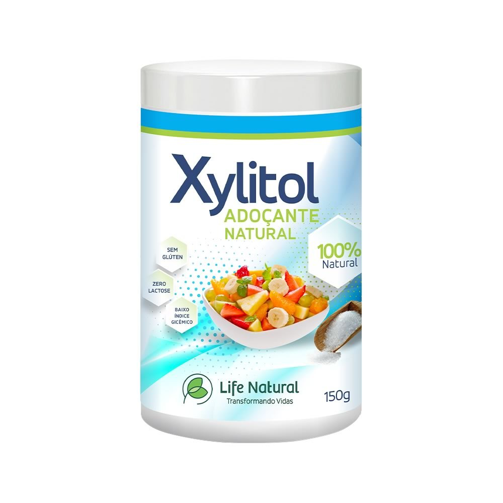 XYLITOL LIFE (adoçante natural)