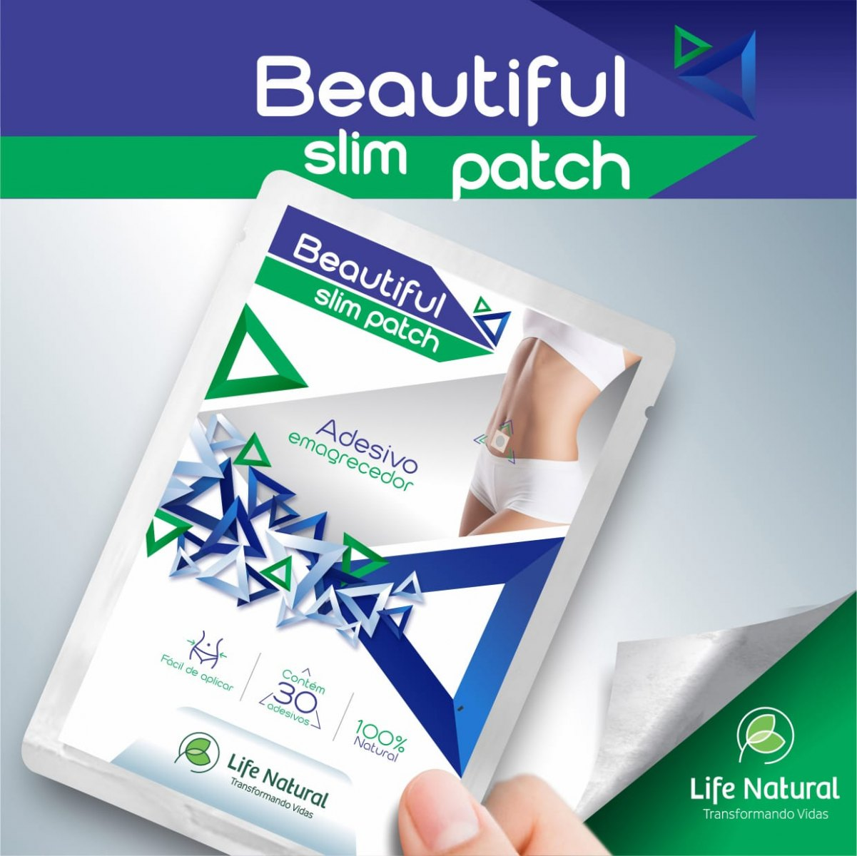BEAUTIFUL SLIM PATCH (ADESIVO EMAGRECEDOR)