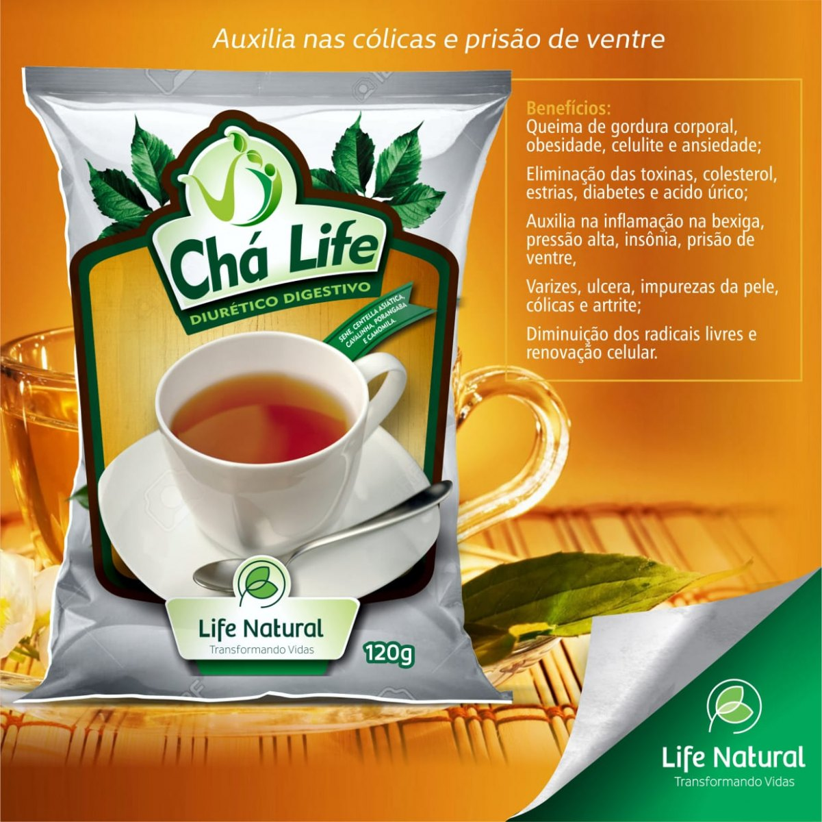 KIT 05 CHÁ LIFE NATURAL