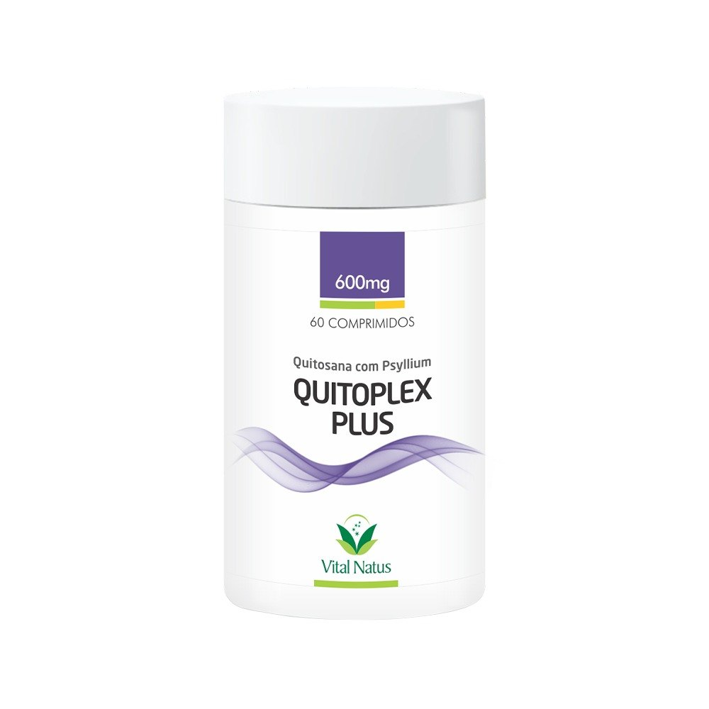 QUITOPLEX PLUS 600mg - 60  COMPRIMIDOS