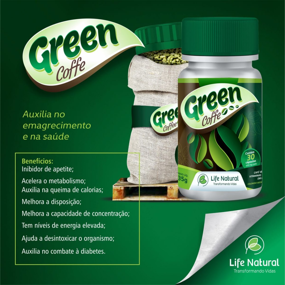 GREEN COFFEE LIFE (CAFÉ VERDE)