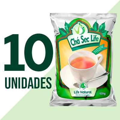 Chá Sec Life - 10 Unidades - Life Natural Transformando Vidas