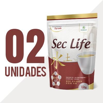 Chá Sec Life - 2 Unidades - Life Natural Transformando Vidas