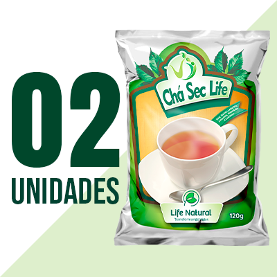 Chá Sec Life - 2 Unidades - Life Natural Transformando Vidas e irá ganhar 1 ANTICELL  LIFE (10 Capsulas)