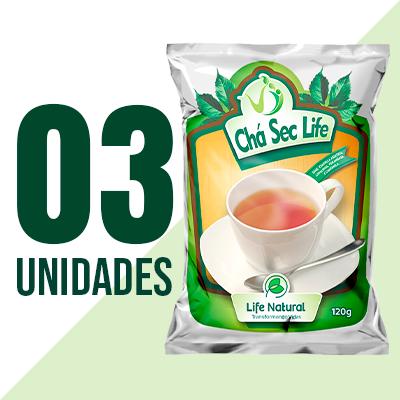 Chá Sec Life - 3 Unidades - Life Natural Transformando Vidas