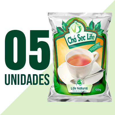 Chá Sec Life - 5 Unidades - Life Natural Transformando Vidas