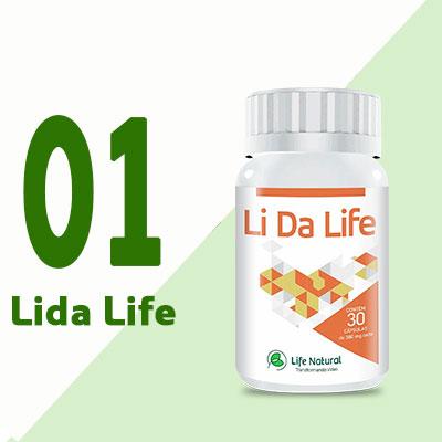 Lida Life - Oferta Única - 1 Pote 50%